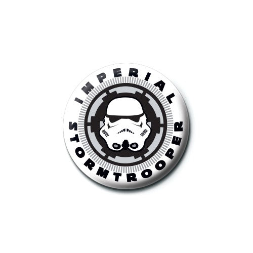 Star Wars (Imperial Trooper) Badge