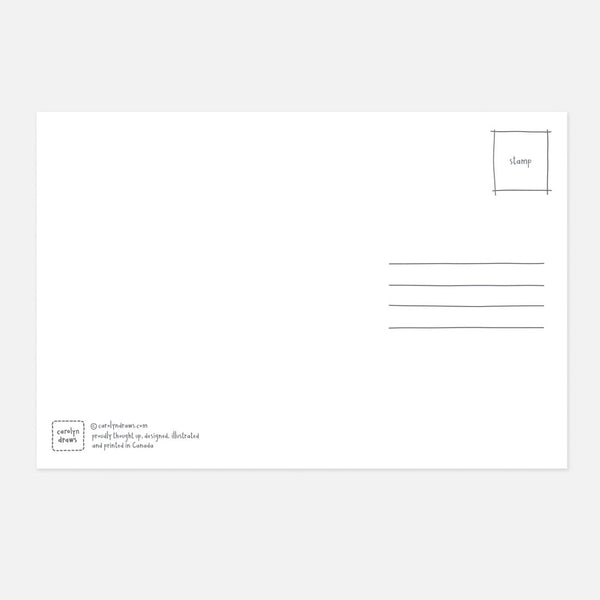 Set of 5 Thank You for Being a Helper Social Distancing Postcards