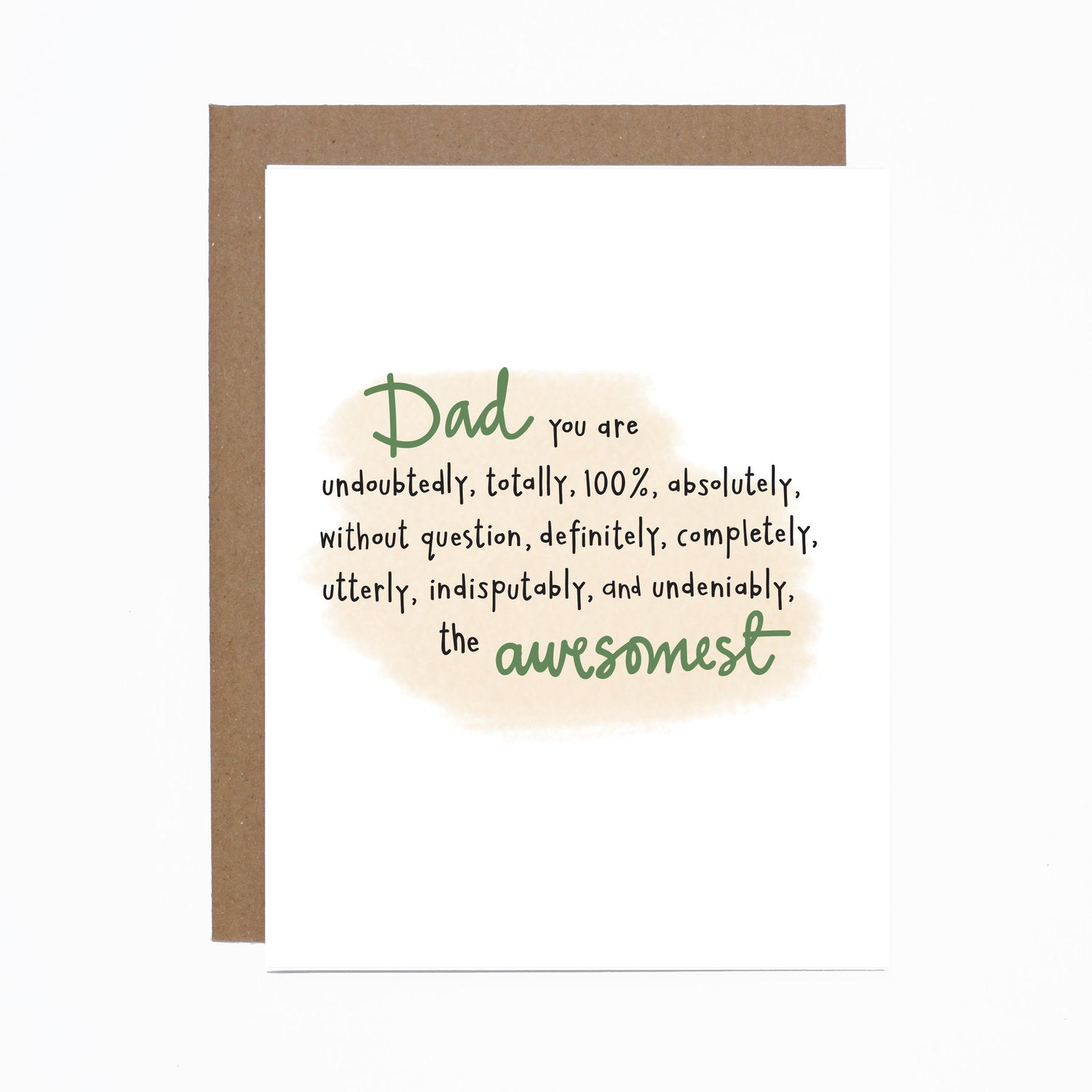 Father's Day (awesomest) card
