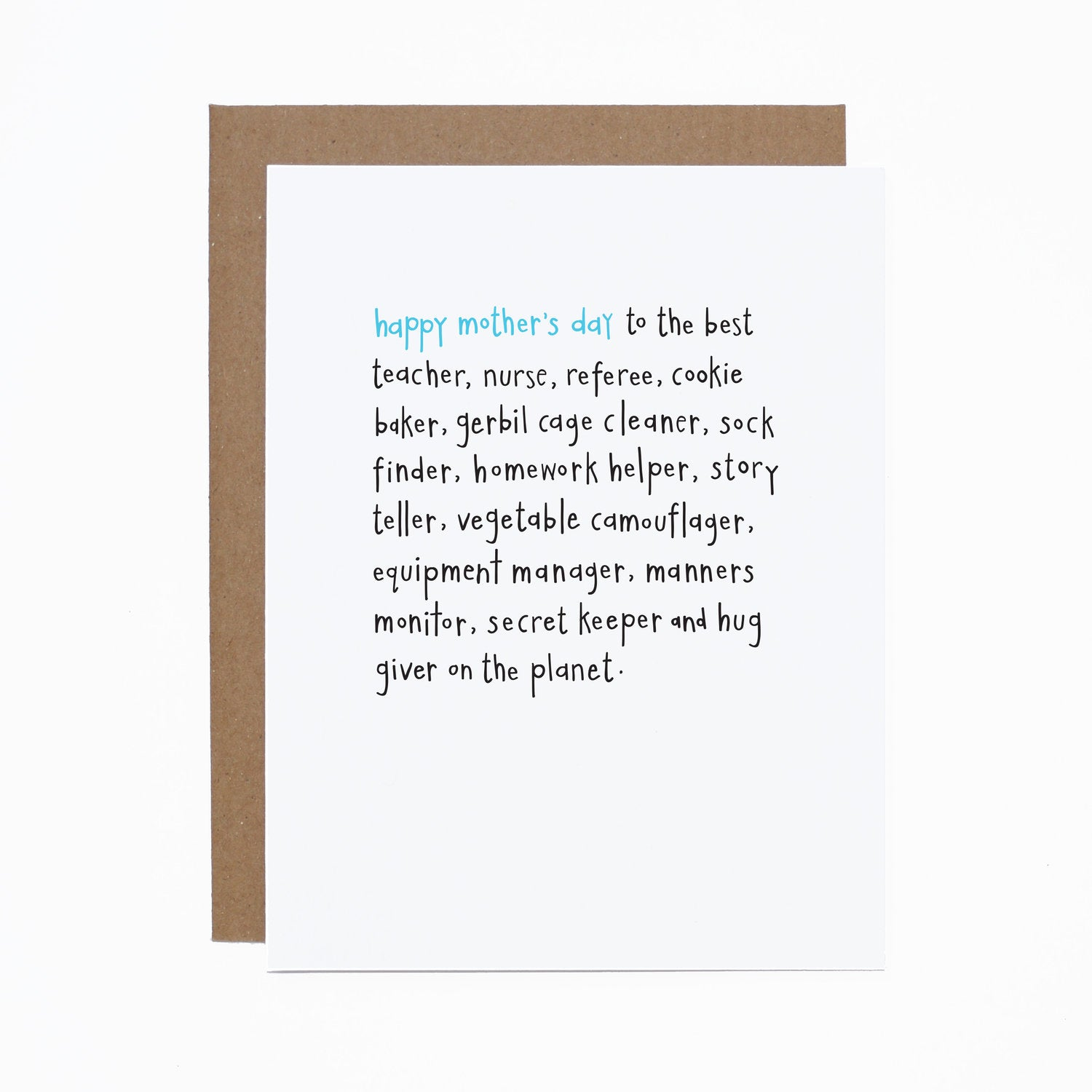 Mother's Day (on the planet) card