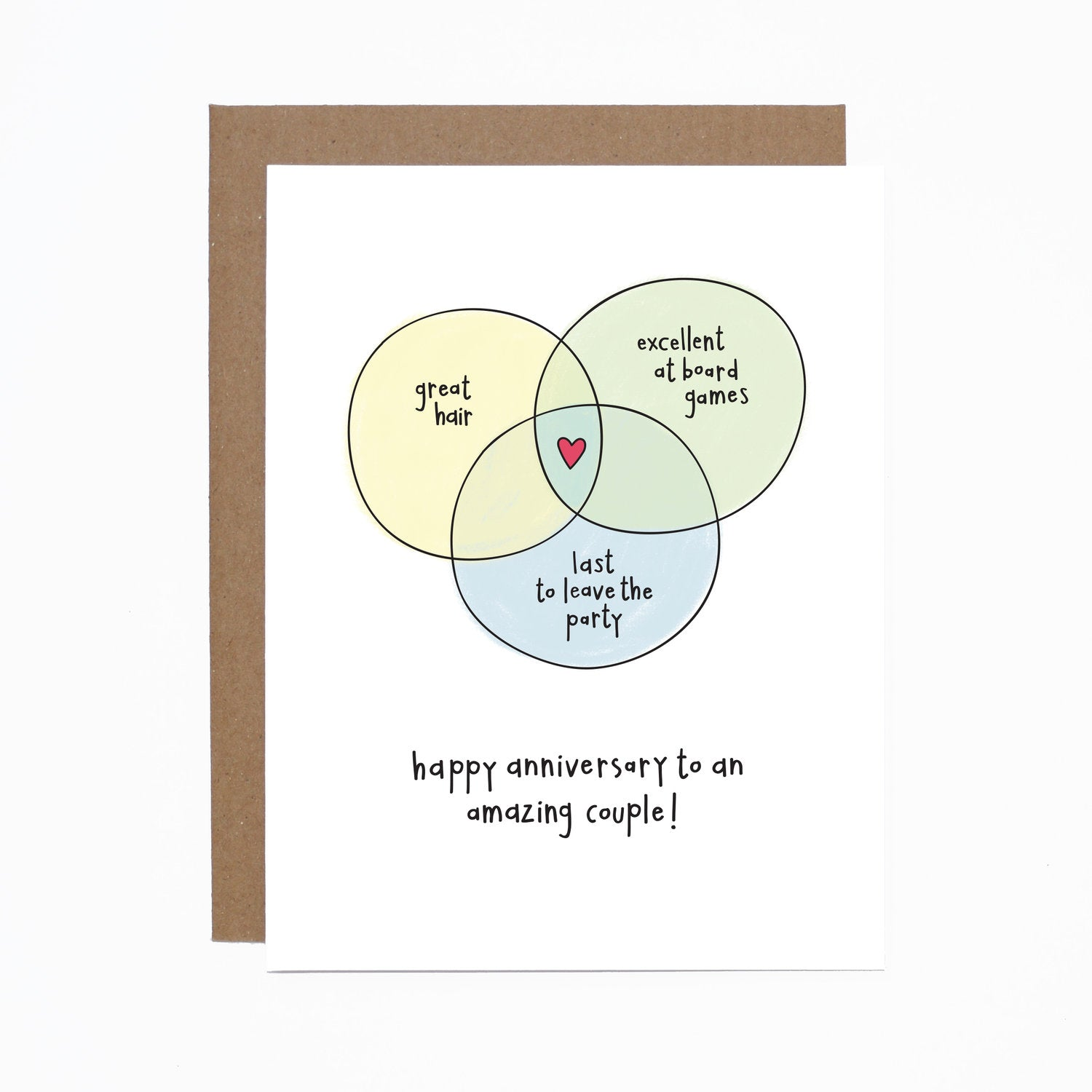 Anniversary Couple card