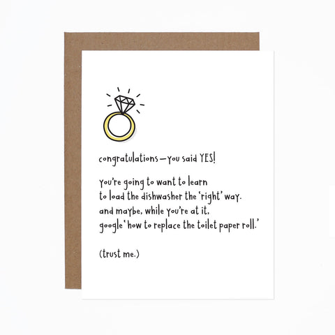 Engagement Advice card