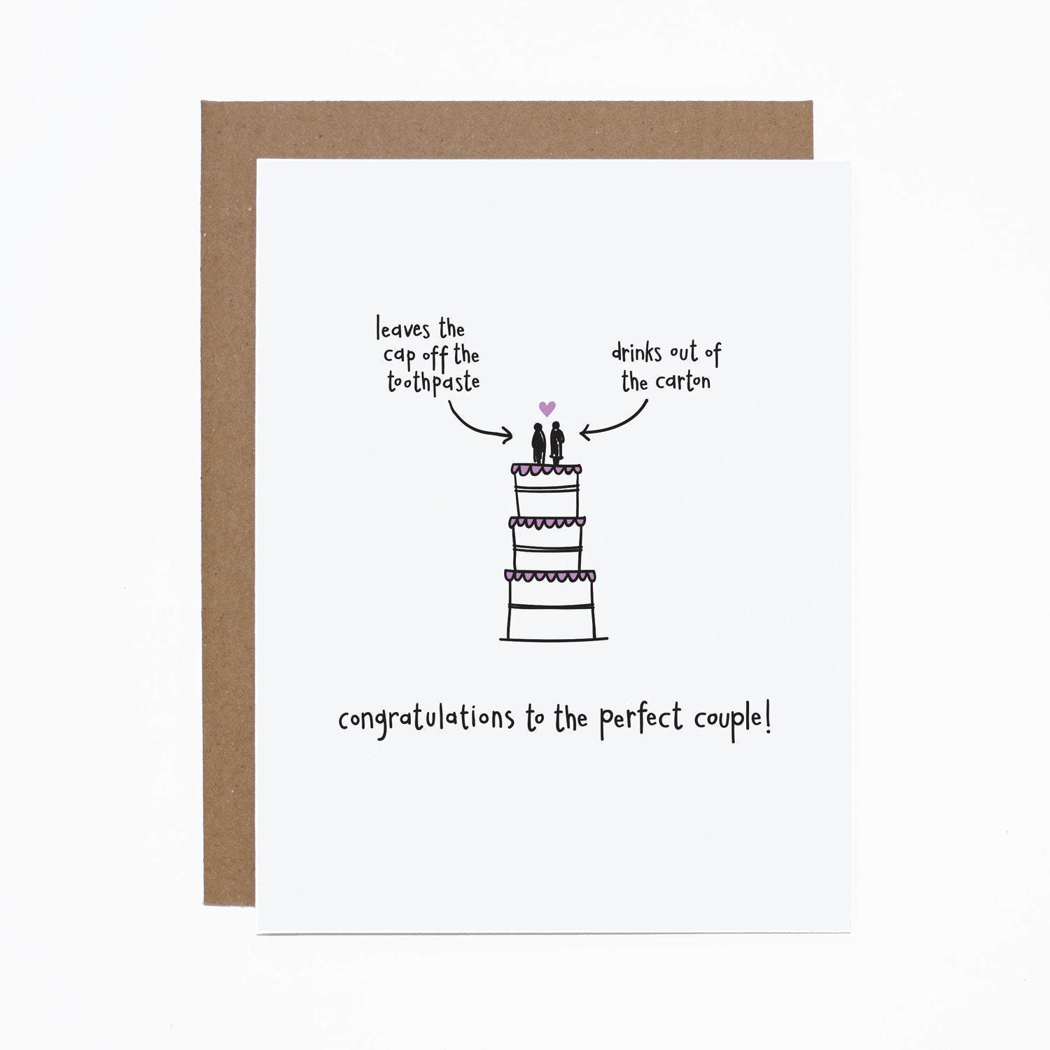 Perfect Couple card