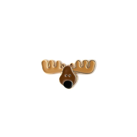 Moose enamel pin