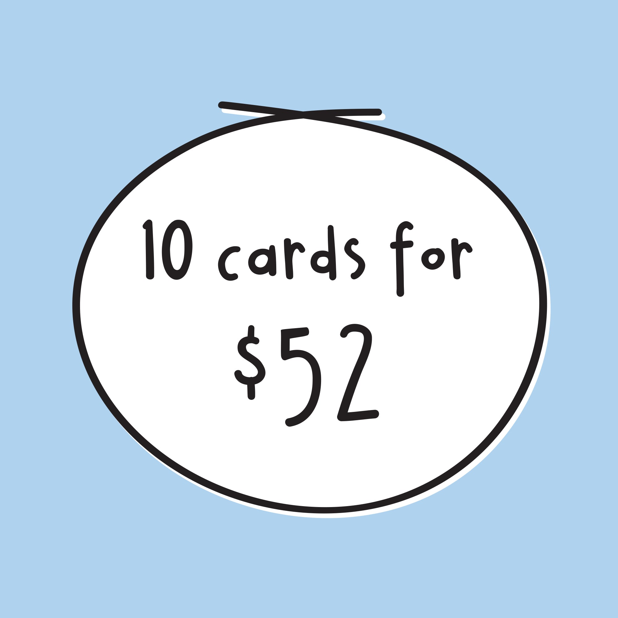 10 Card Bundle Deal
