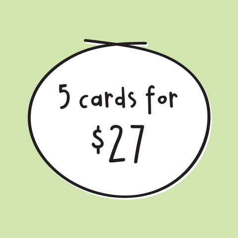 5 Card Bundle Deal