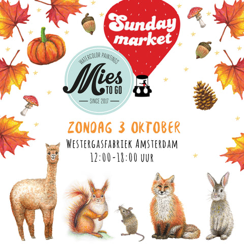 Mies to Go Sunday Market herfst