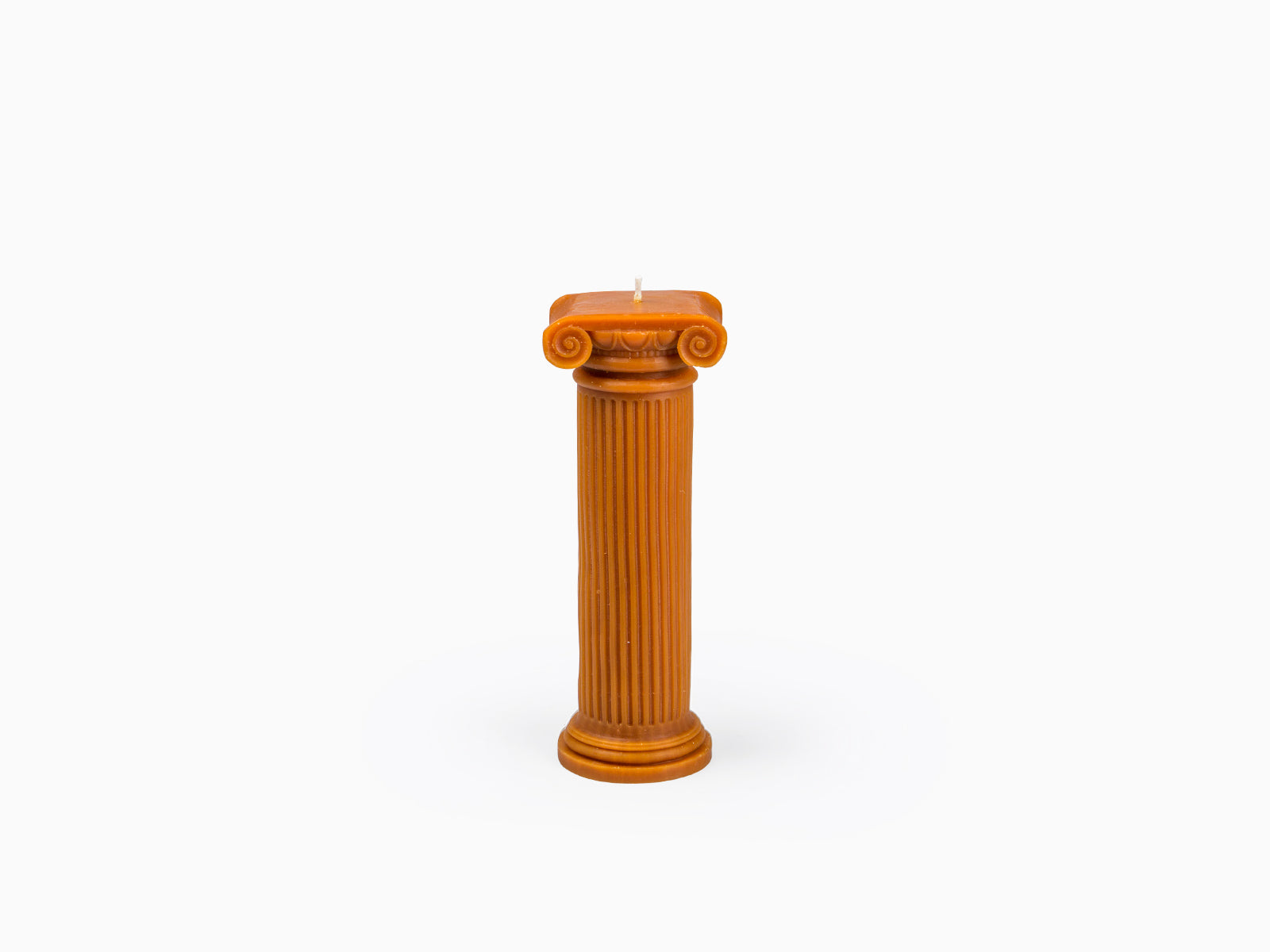 Hestia Column Candle Terracotta
