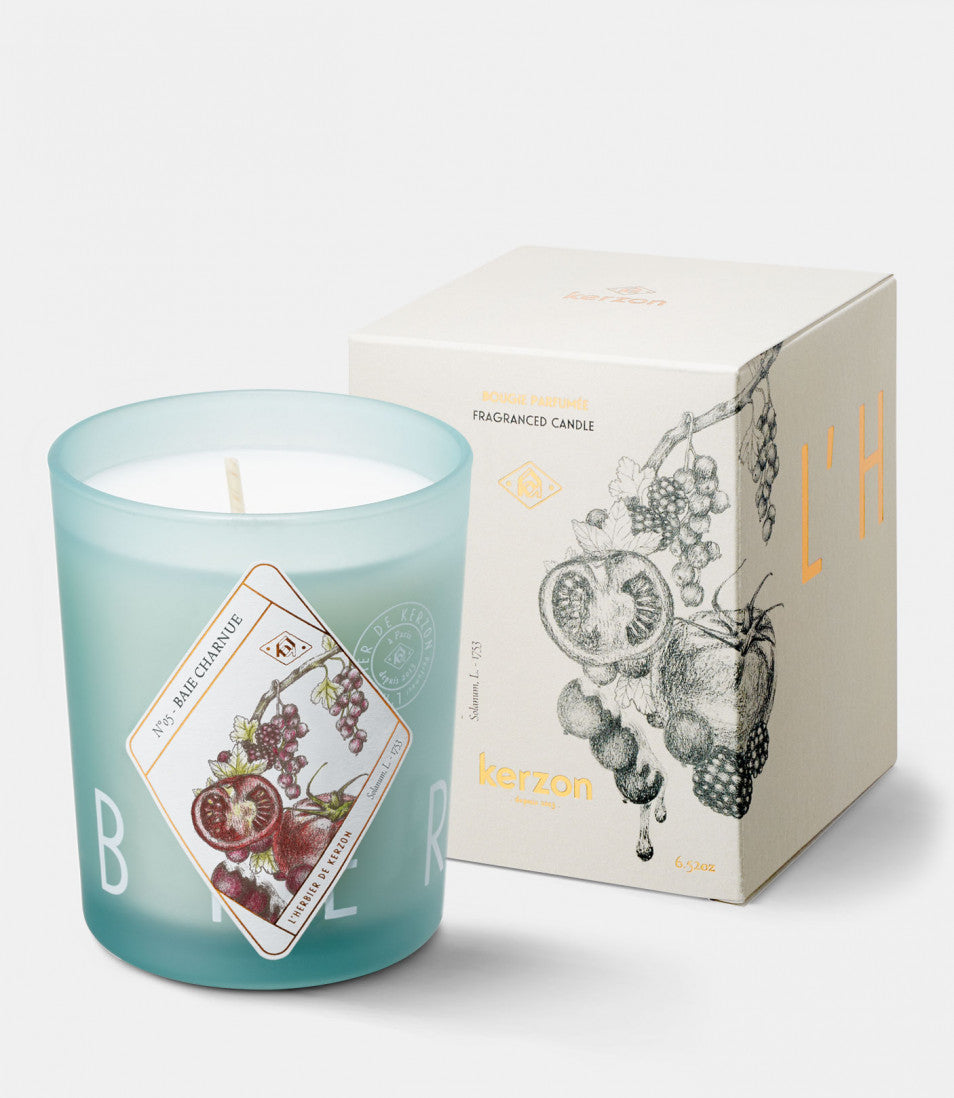 FRAGRANCED CANDLES Baie charnue