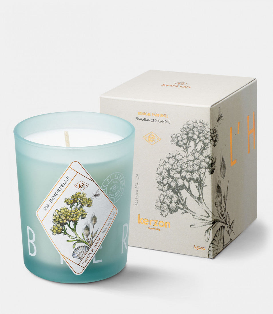 FRAGRANCED CANDLES Immortelle des dunes