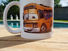 Load image into Gallery viewer, Personalized School Bus Driver Coffee Mug