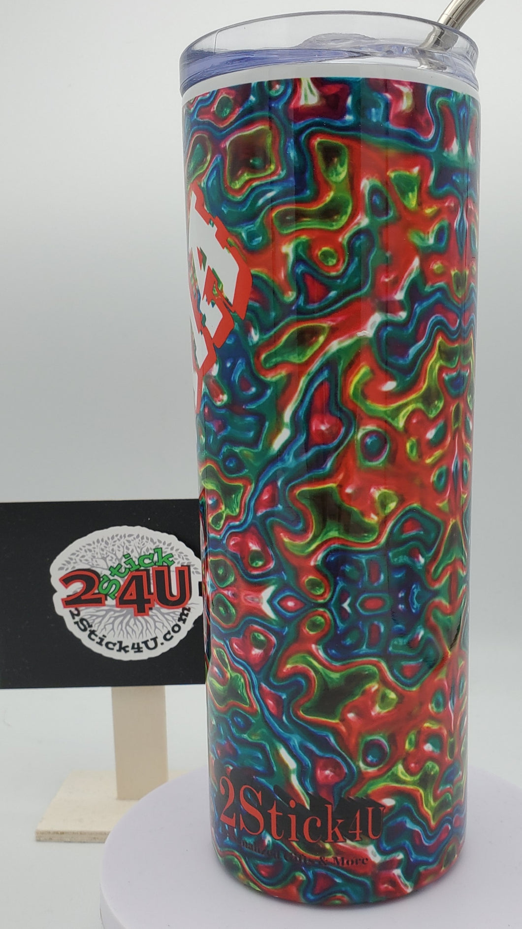 Oil Slick No. 4 20 Ounce Stainless Steel Tumbler