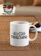 Cargar imagen en el visor de la galería, All Star Teacher Coffee Mug - Home of Buy 3, Get 1 Free. Long Lasting Custom Designed Coffee Mugs for Business and Pleasure. Perfect for Christmas, Housewarming, Wedding Party gifts