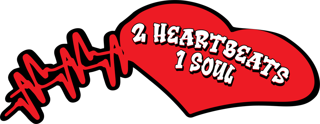 2 Heartbeat 1 Soul Sticker