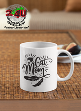 Load image into Gallery viewer, Cat Mom Coffee Mug - Home of Buy 3, Get 1 Free. Long Lasting Custom Designed Coffee Mugs for Business and Pleasure. Perfect for Christmas, Housewarming, Wedding Party gifts