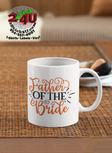Wedding - Father Of The Groom Coffee Mug - Home of Buy 3, Get 1 Free. Long Lasting Custom Designed Coffee Mugs for Business and Pleasure. Perfect for Christmas, Housewarming, Wedding Party gifts