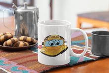 Load image into Gallery viewer, School Bus Driver Coffee Mug, Personalized with your name or Googly Eyes, Same Image on Both Side, Choose Your font & Font Color, Your Name