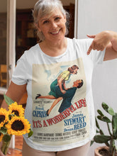 Load image into Gallery viewer, Retro T-Shirt -It's A Wonderful Life - Custom Design