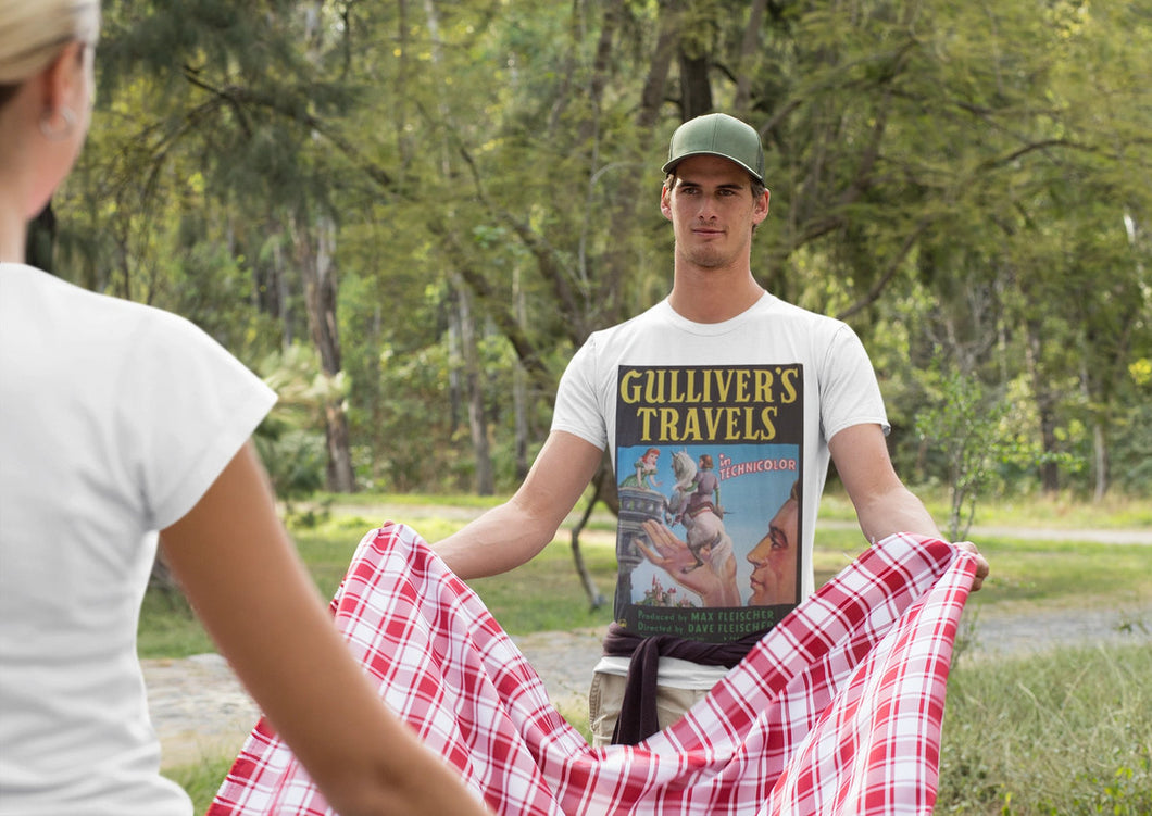 Retro T-Shirt -Gulliver's Travels - Custom Design