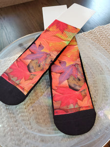 Autumn Dayz Custom Socks, Can be personalized and created for you, customized socks perfect as a holiday gift or birthday gift. Men & Woman