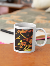 Load image into Gallery viewer, Purple Kiss Coffee Mug with Personalized Message for a Coffee Cup Lover
