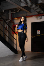 Load image into Gallery viewer, Women Black & Blue Outfit