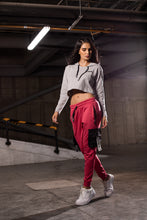 Load image into Gallery viewer, Women's Red/Black Joggers Outfit