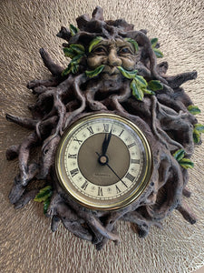 Greenman Wall Clock