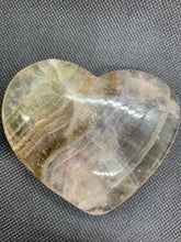 Load image into Gallery viewer, Rainbow Fluorite Hearts