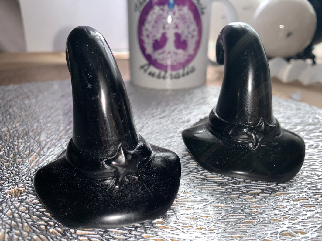 Carved Witch or Wizard Hats