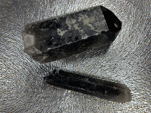 Smoky Quartz points
