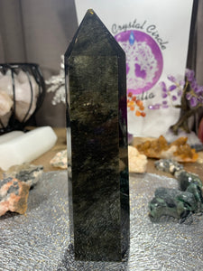 Golden Sheen Obsidian Generator Point
