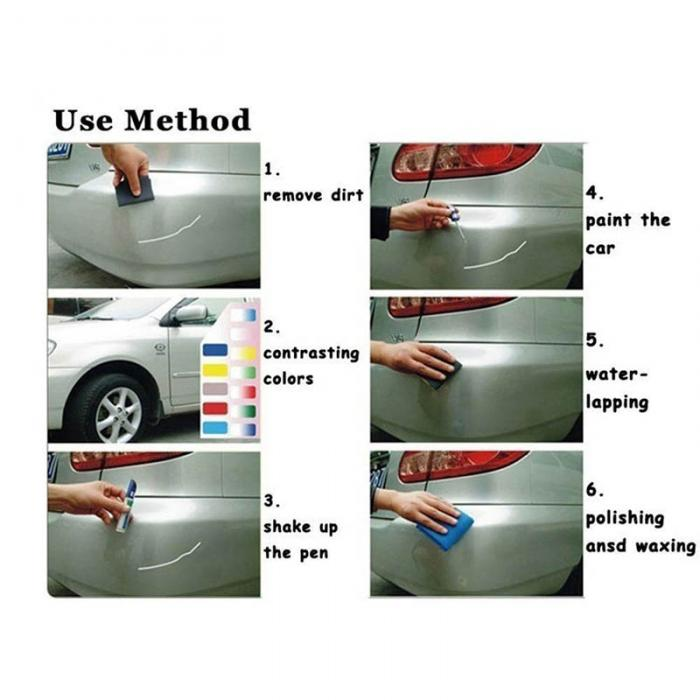 Car Paint Repair 'Waterproof'