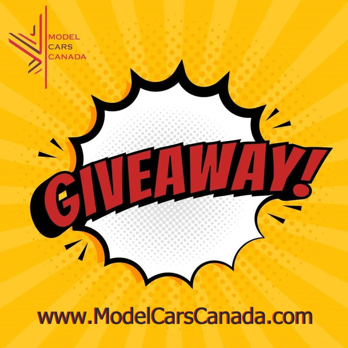 Model Cars Canada - New Website Launch 10% Off Sale and Giveaway Contest!