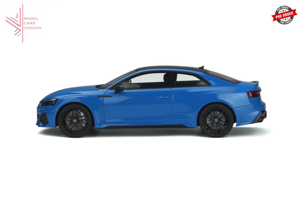 Gt Spirit - Audi Rs5 Coupe (Turbo Blue)(Gt311) 1:18 Scale Resin Model Car