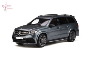 Gt Spirit - Mercedes-Benz Amg Gls63 (Selenite Grey)(Gt784) 1:18 Scale Model Car