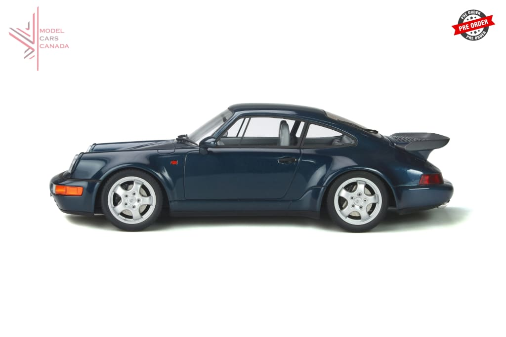 Gt Spirit - Porsche 911 (964) Turbo 3.3 (Amazon Green)(Gt315) 1:18 Scale Model Car