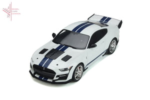 Gt Spirit - Shelby Gt500 Dragon Snake (Oxford White)(Gt306) 1:18 Scale Resin Model Car