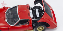 Load image into Gallery viewer, Kyosho - Lamborghini Miura S (Red/gold)(08316R) 1:18 Scale Diecast Model Car