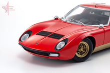 Load image into Gallery viewer, Kyosho - Lamborghini Miura Sv (Red/gold)(08317R) 1:18 Scale Diecast Model Car