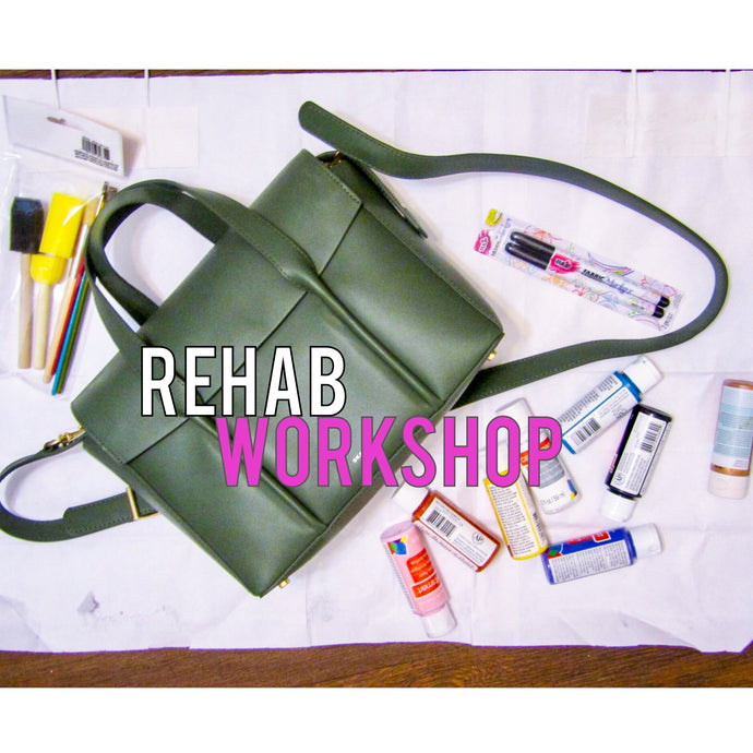 Rehab Workshop: Graffiti Handbag