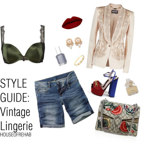 Style Guide: Vintage Lingerie