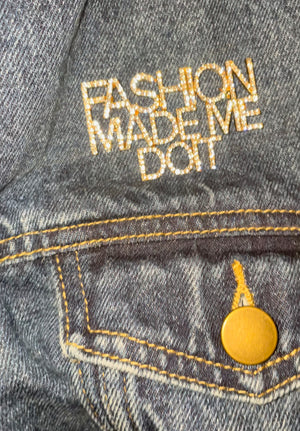 Load image into Gallery viewer, Fashion Made Me Do It Pin