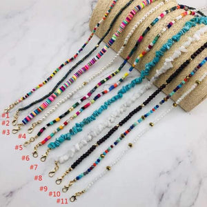 Beaded Face Mask Lanyards