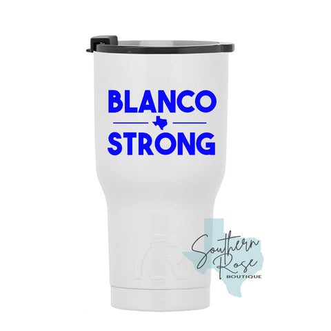 Blanco Strong Decal