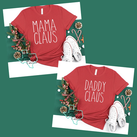 Mama Claus & Daddy Claus