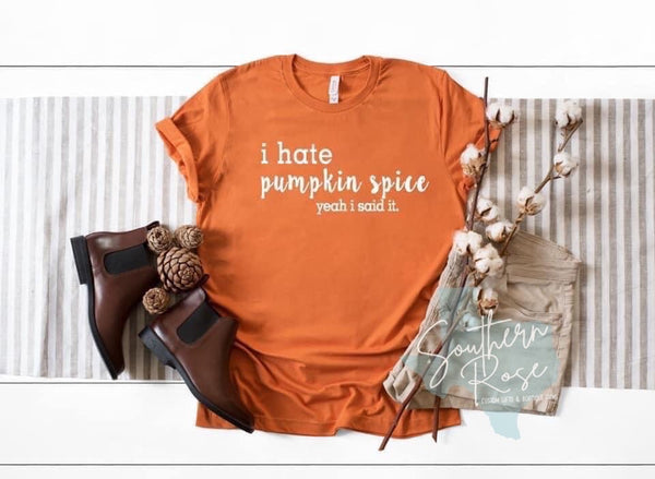 I Hate Pumpkin Spice