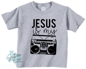 Jesus is My Jam - Infant Onesie or Toddler T-Shirt
