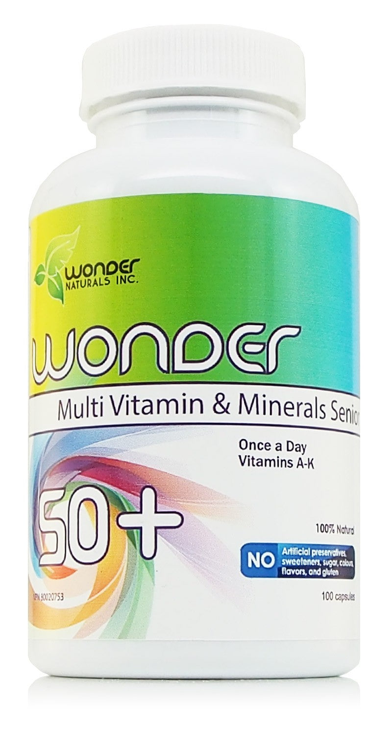 Wonder 50+ Multi Vitamin & Minerals