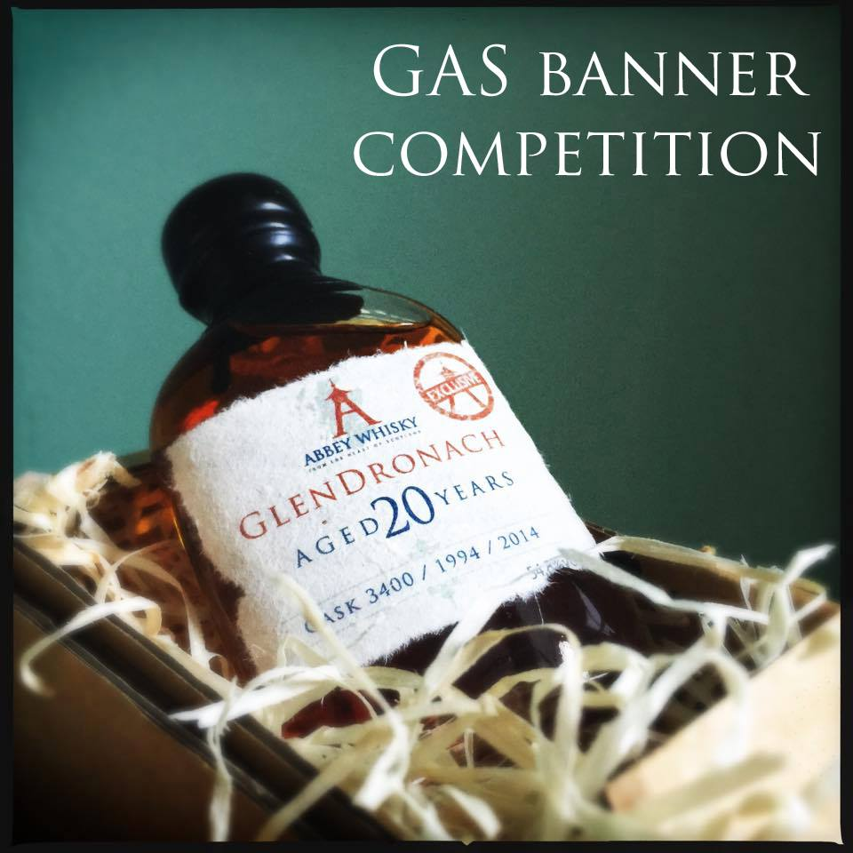 GAS Banner Competition - Win GlenDronach AW exclusive whisky!